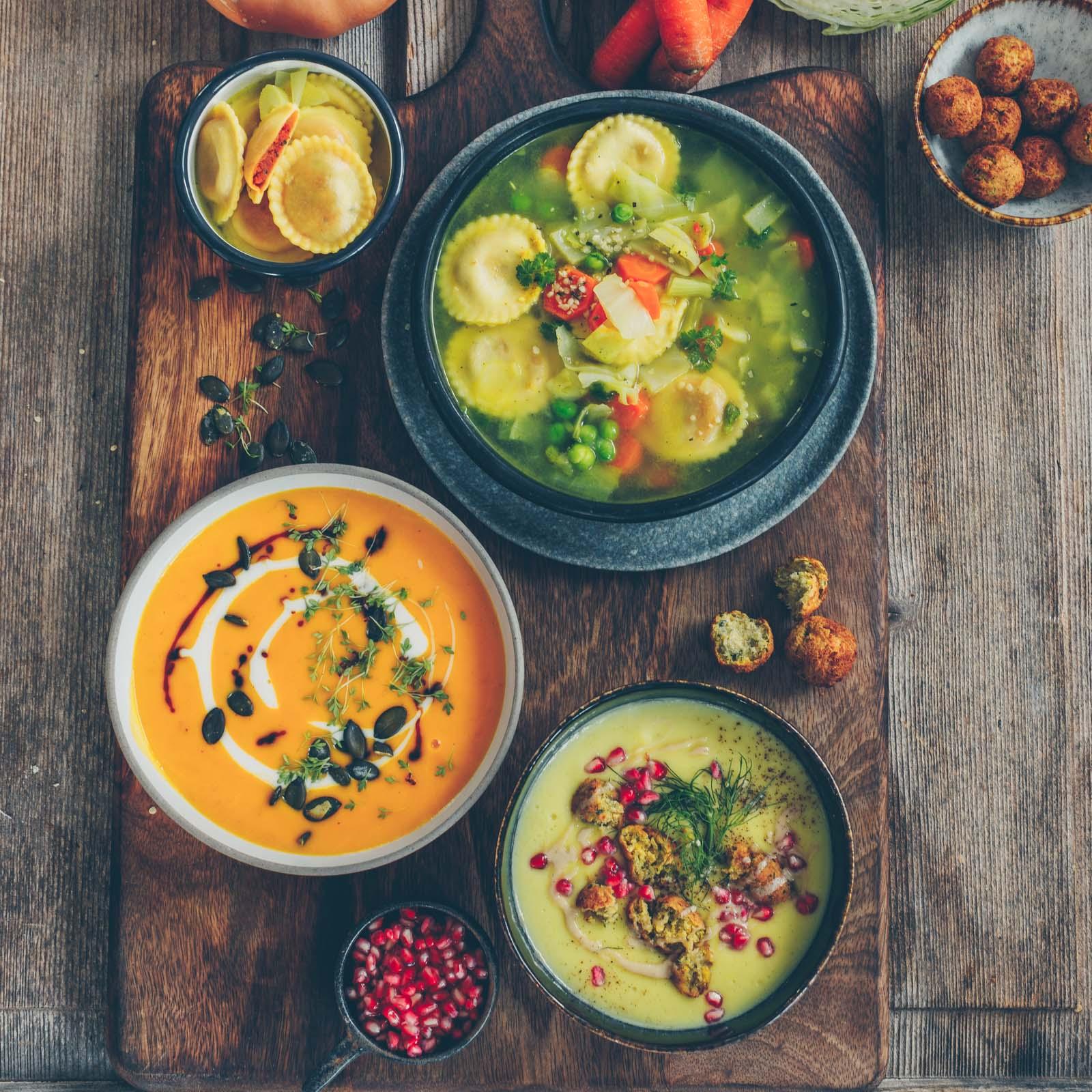 Herbstsuppen für Suppenkasper