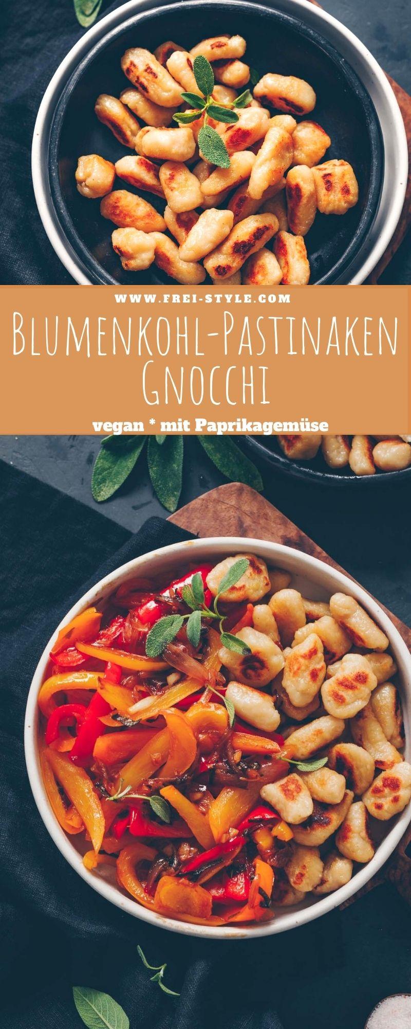 Blumenkohl-Pastinaken Gnocchi