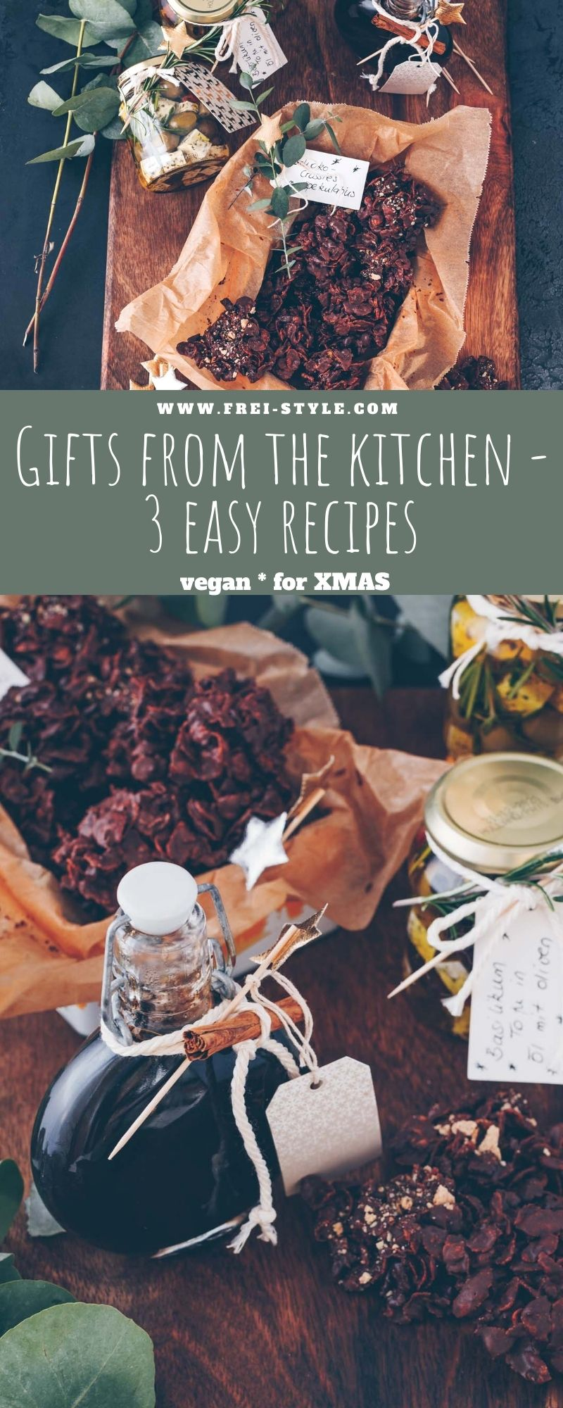 Gifts from the kitchen – 3 easy recipes