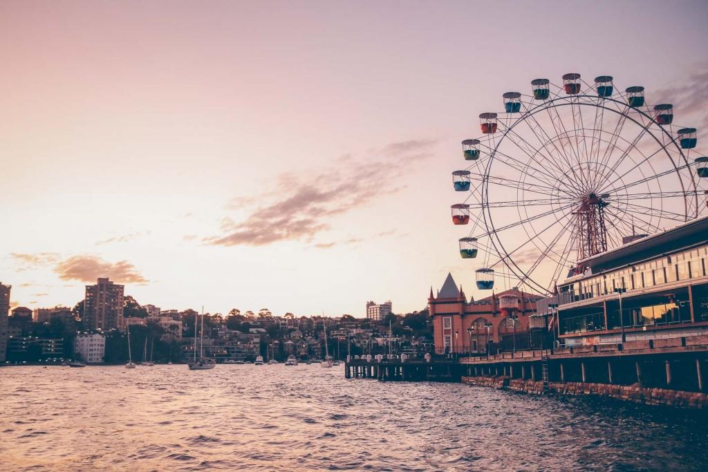 ROUND THE WORLD –  Part 1 –  SINGAPORE and SYDNEY
