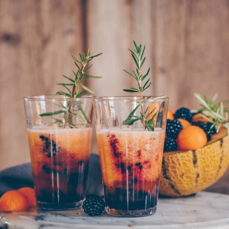 Brombeer-Melonen-Drink und gewinne einen Sodastream*