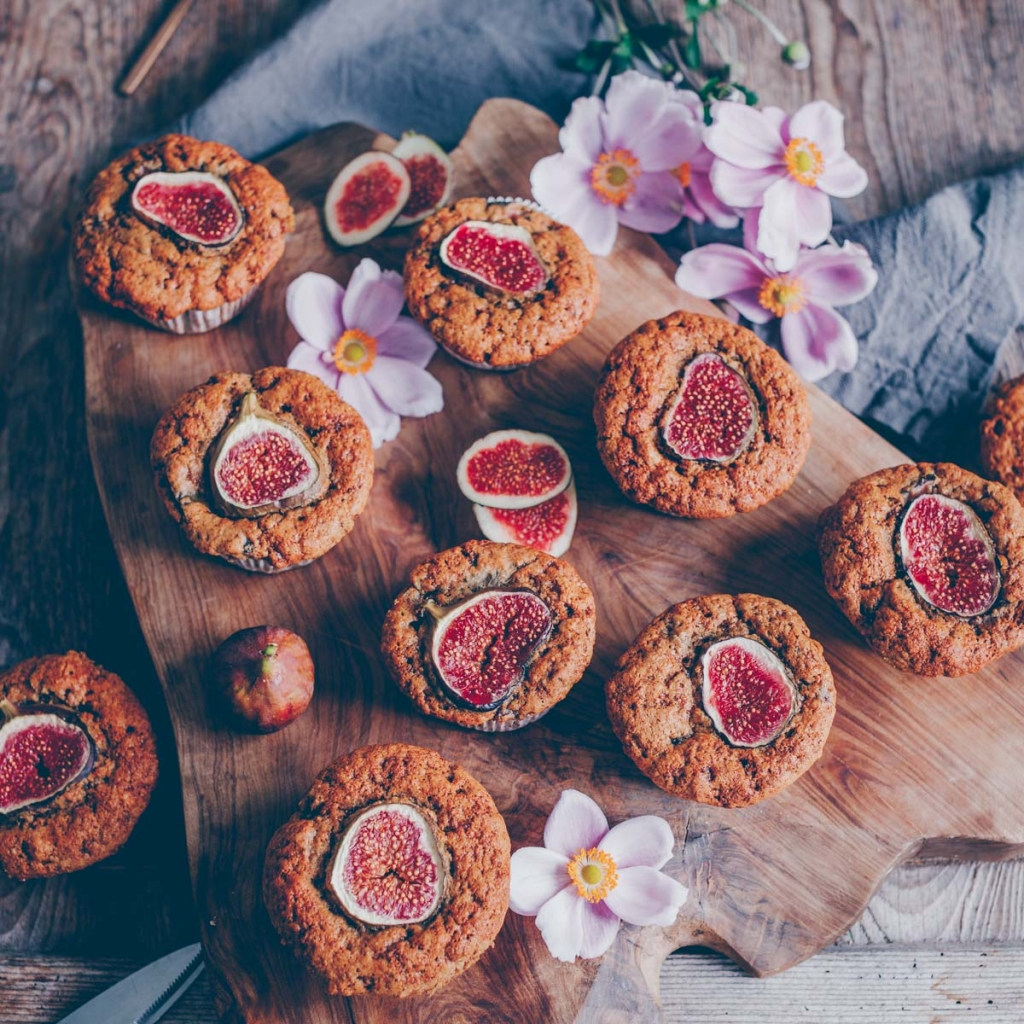 Fig Walnut Muffins and a video