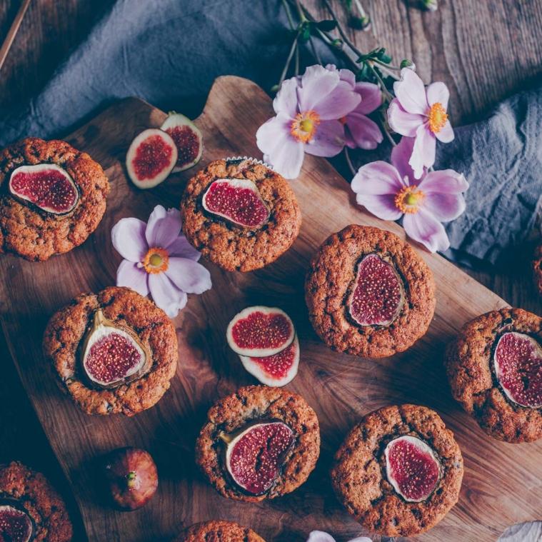 Feigen Baumnuss Muffins und ein Video