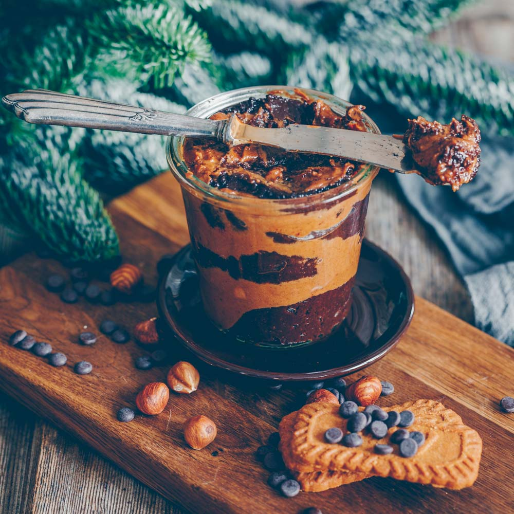Speculoos-Chocolate Spread and a crafting idea