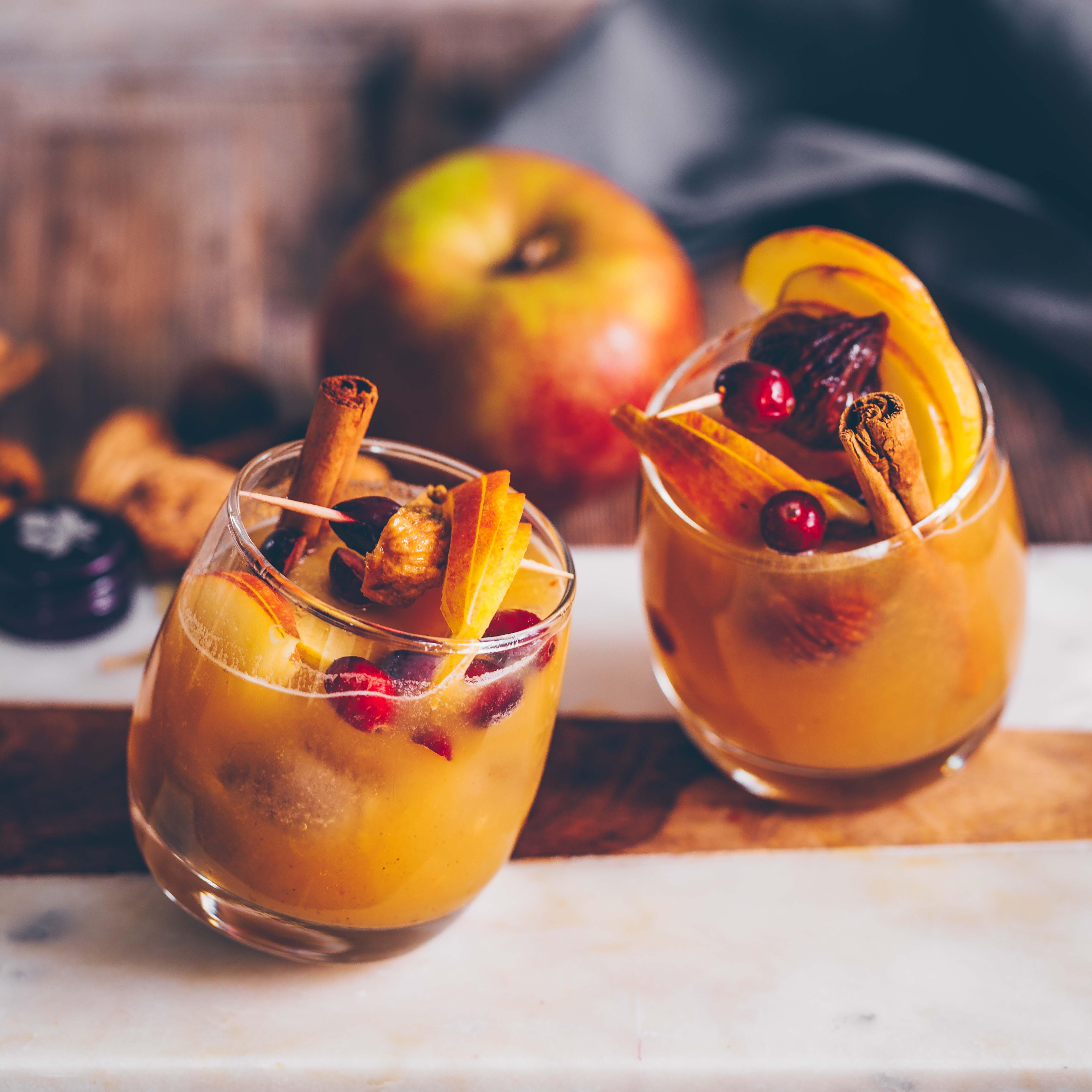 Apfel Feigen Cocktail