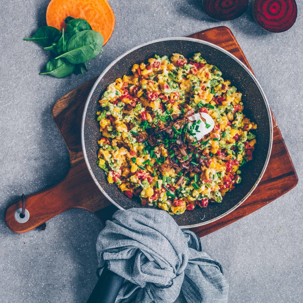Vegan Spätzle – 4 ways