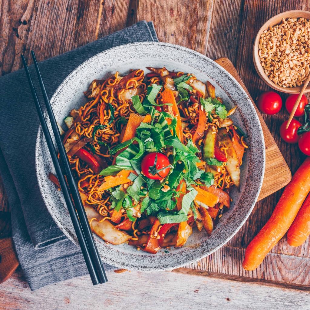 Quick recipe: Veggies Stir Fry Noodles