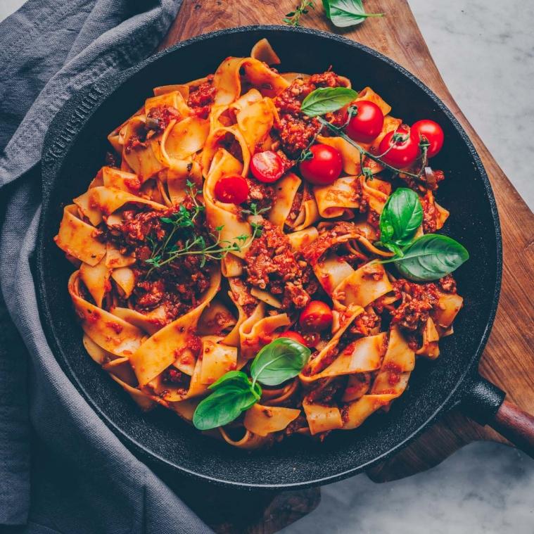 Die leckerste vegane Bolognese