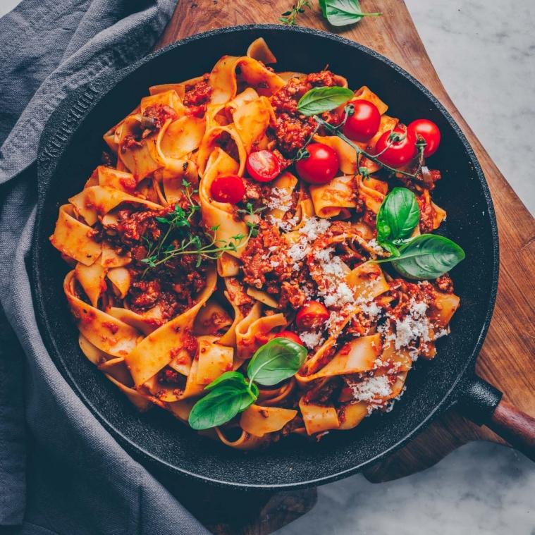 The best vegan Bolognese
