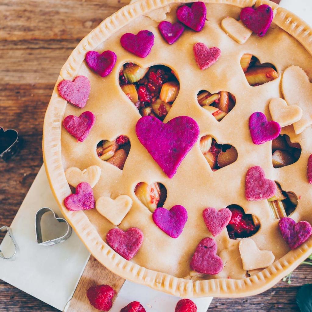 Rhabarber Pie – perfekt für Muttertag