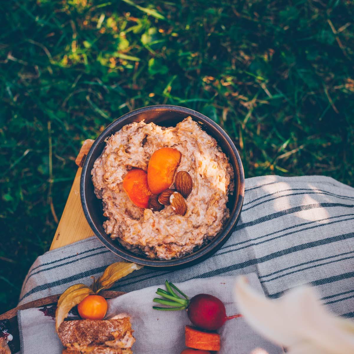 Aprikosen-Mandel Frischkäse vegan