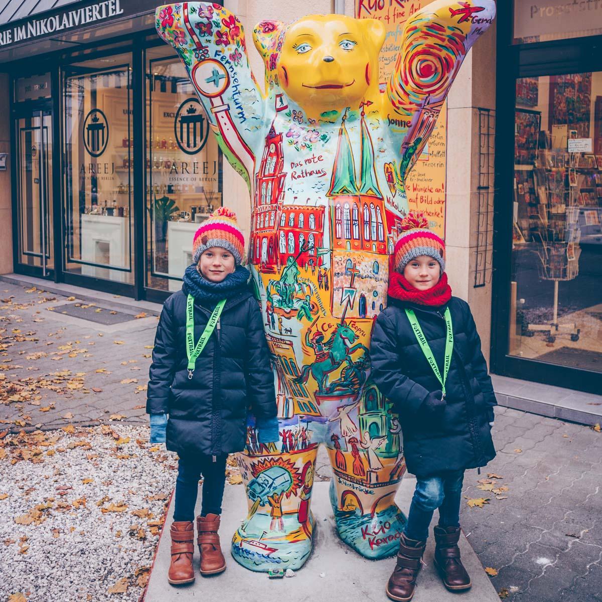 Berlin mit Kids und Foxtrail