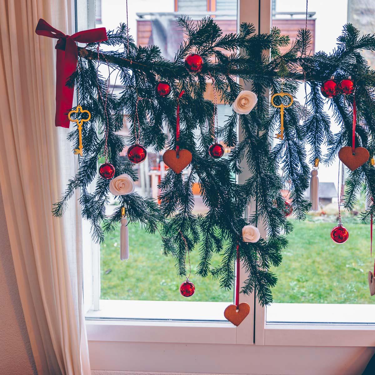Weihnachtsast - Alternative zum Christbaum