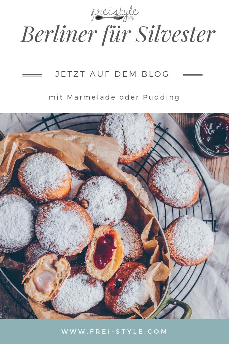 vegane Berliner für Silvester