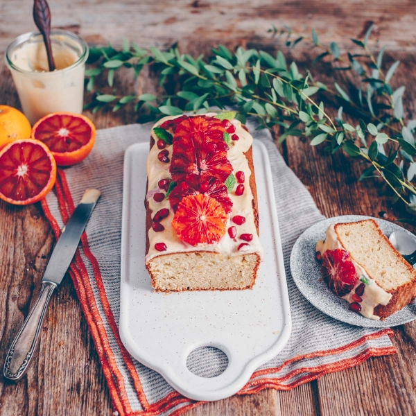 Quick and moist orange cake