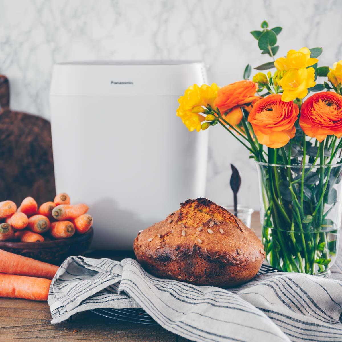 Rüebli-Brot im Brotbackautomat