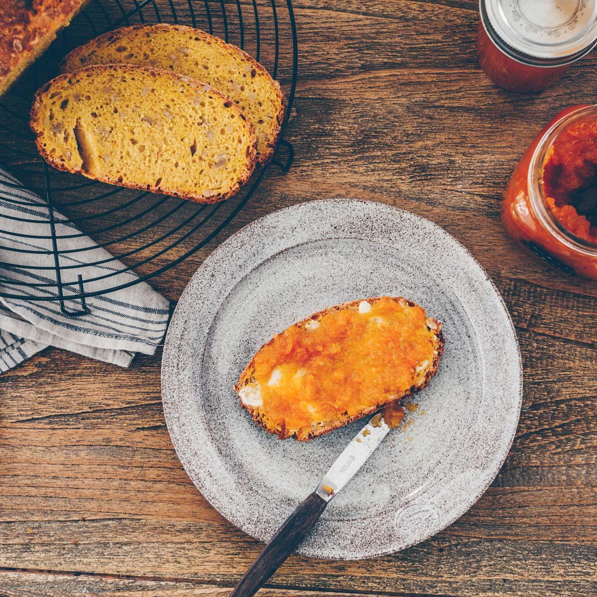 Rüebli-Brot & Apfel-Rüebli Konfi