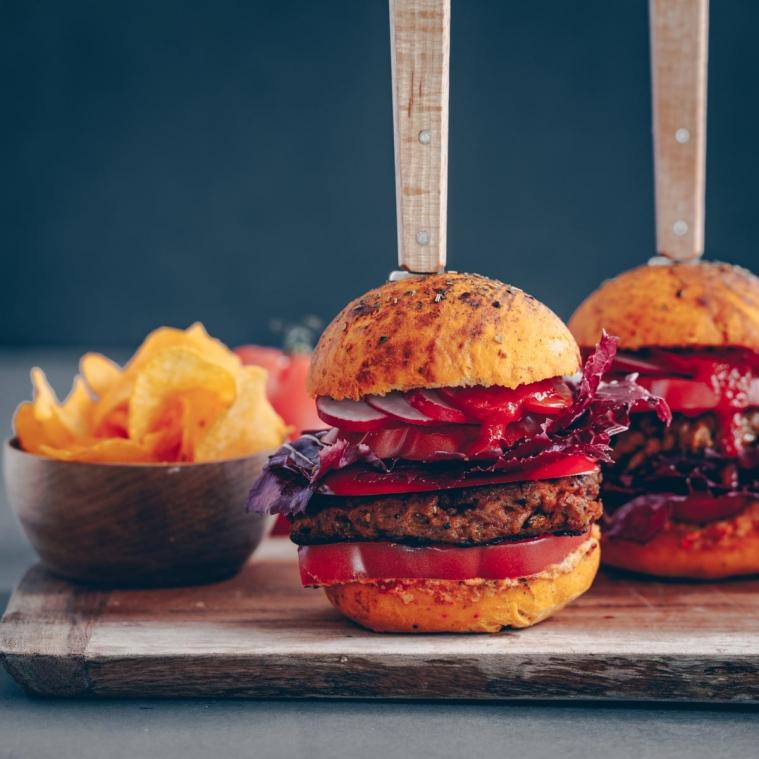 Tomaten Burger-Buns