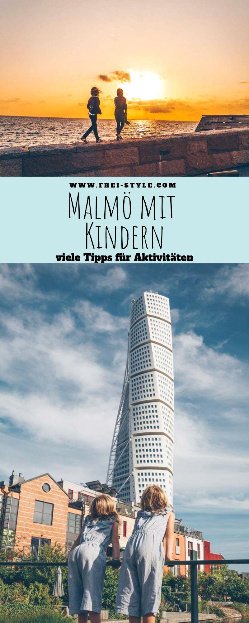 Malmö mit Kindern