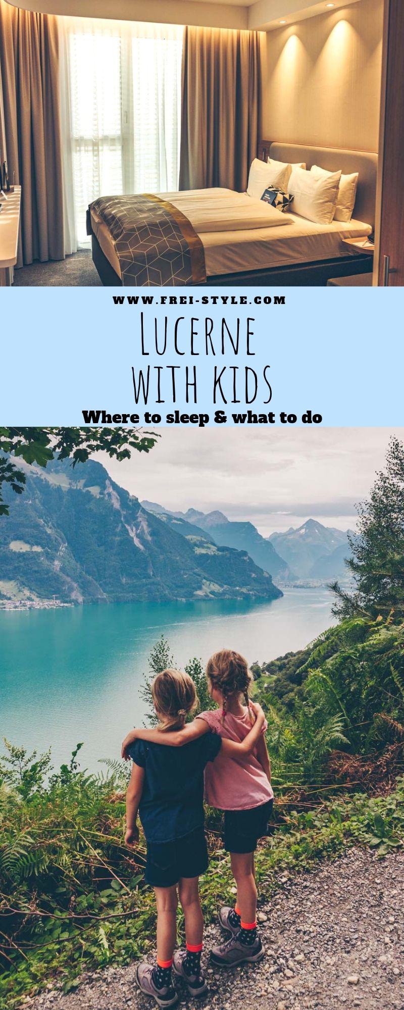 Lucerne with kids