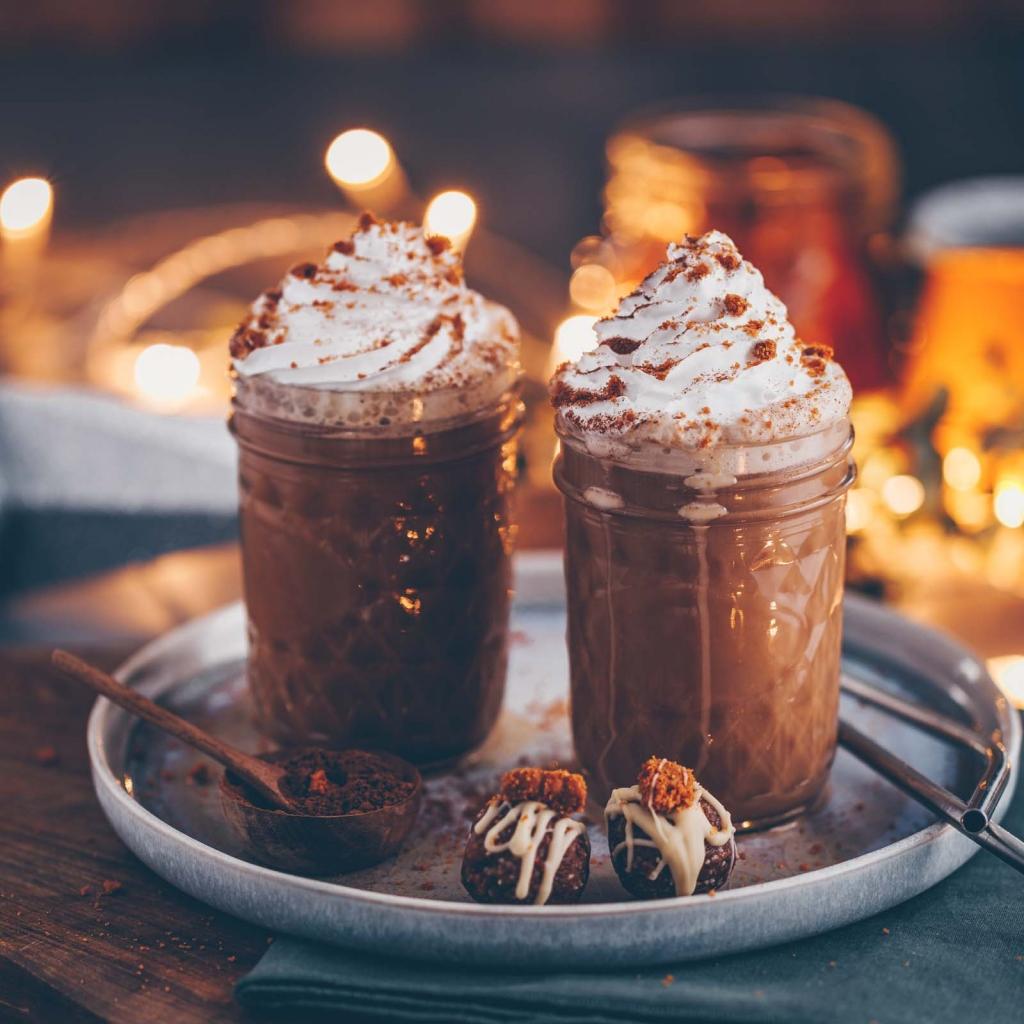 Vegane Gingerbread Latte