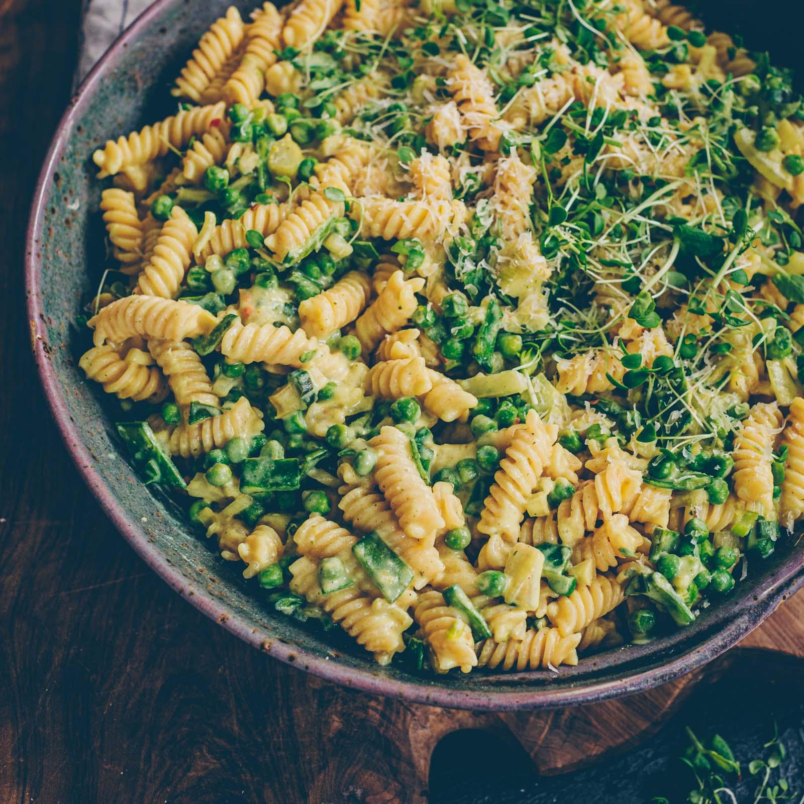 Cremige Gemüse-Pasta
