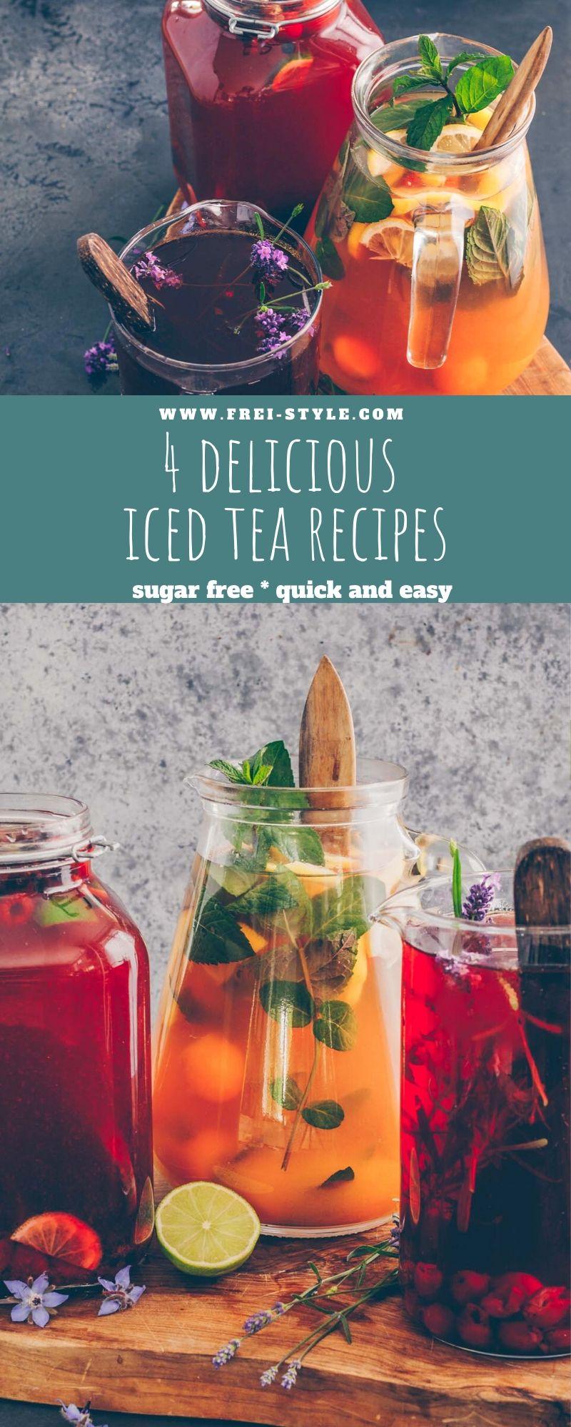 4 delicious iced tea recipes