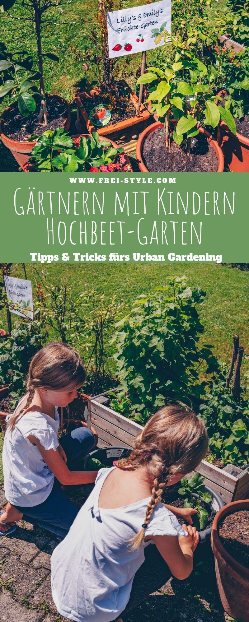 Gärtnern mit Kindern - Urban Gardening