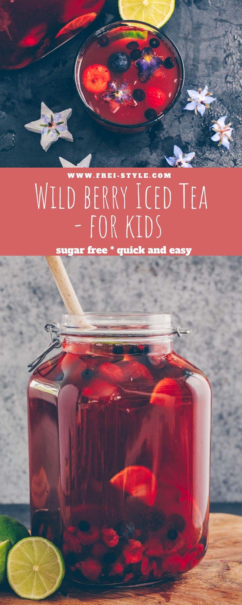 Wild Berry iced tea