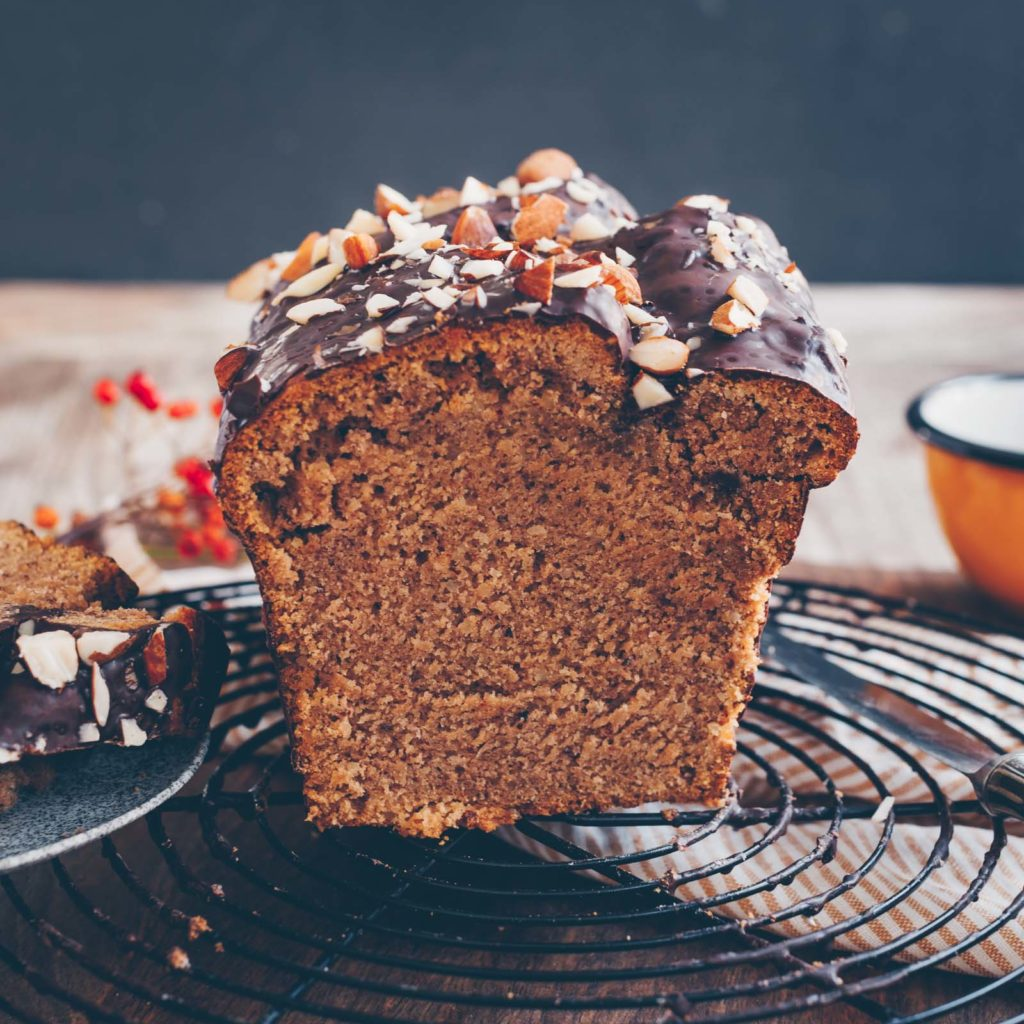 Vegan Chestnut cake