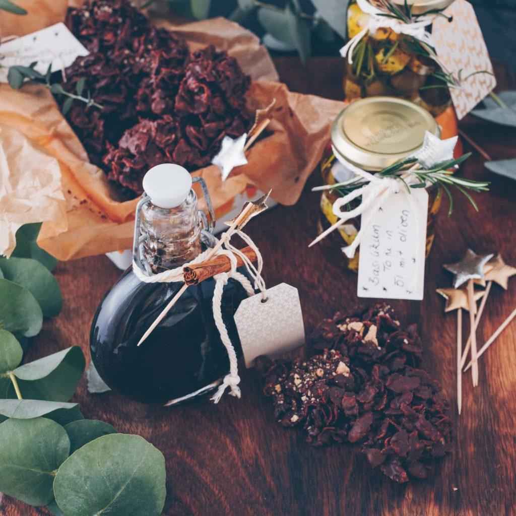 Geschenke aus der Küche – 3 einfache Rezepte