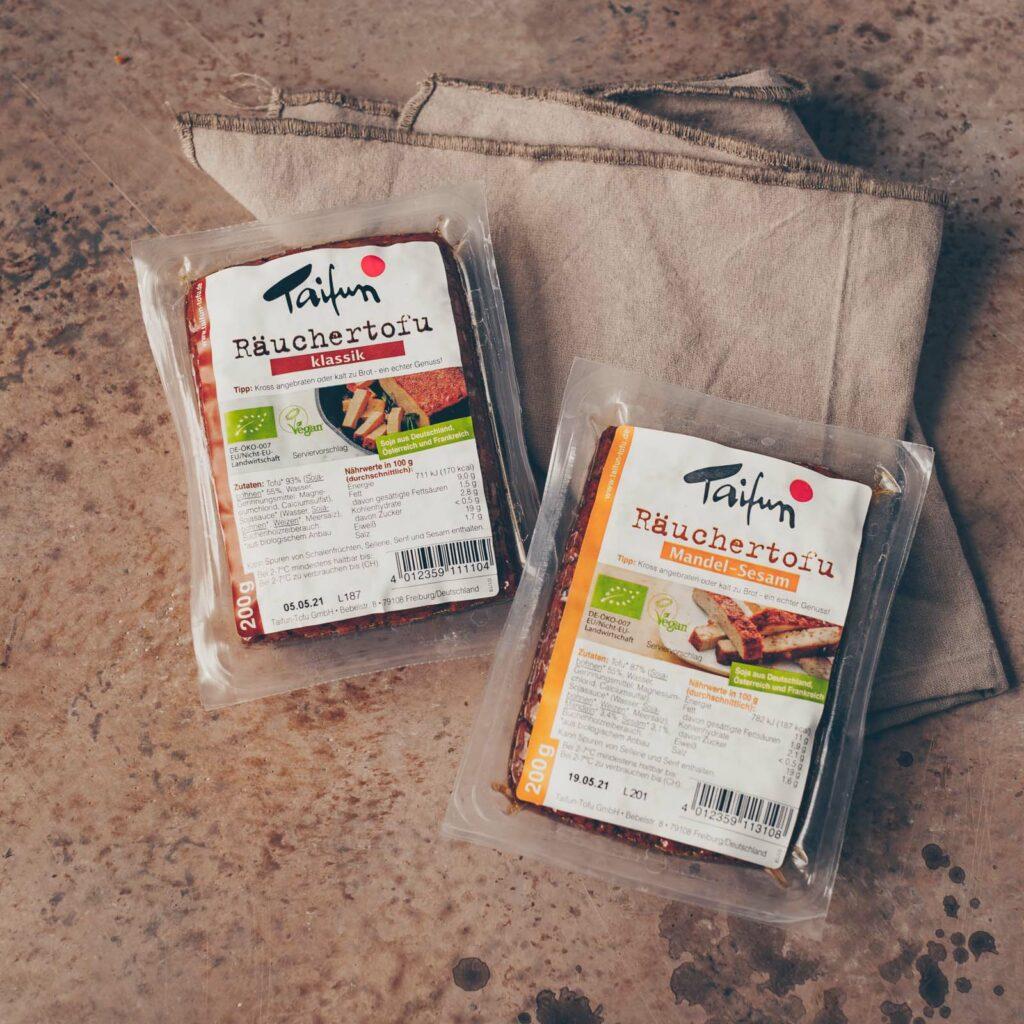 Tofu auf der Snackplatte