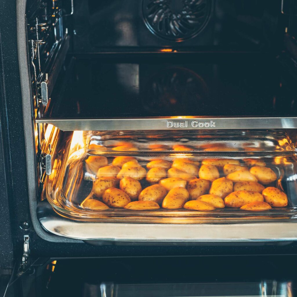 Spargel aus dem Ofen