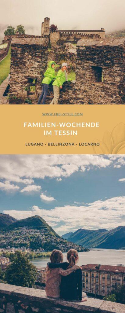 Familien-Wochenende im Tessin