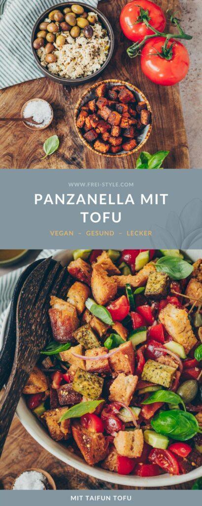 Panzanella mit Tofu